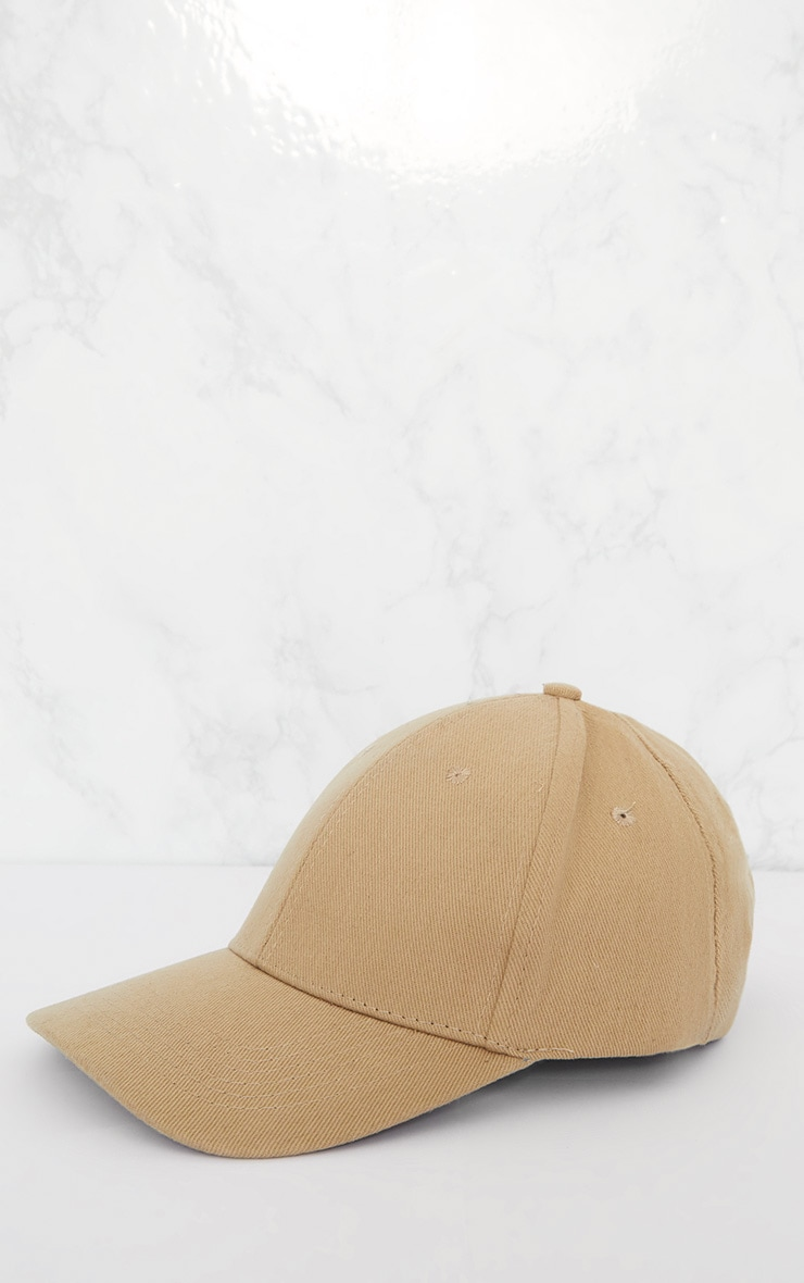 Olive Woven Baseball Cap 3
