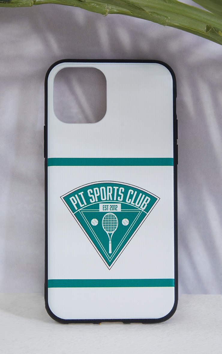 PRETTYLITTLETHING White Tennis Club iPhone X/XS/11 Pro Case 2