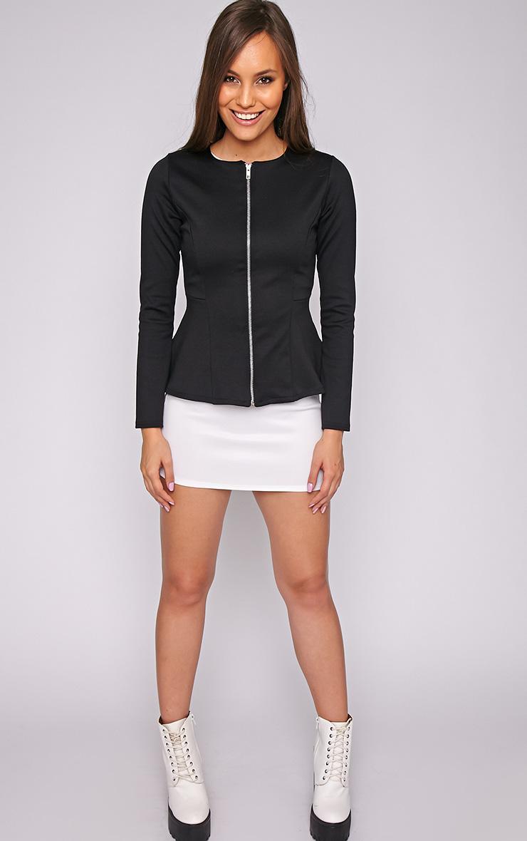 Marcela Black Peplum Blazer 1