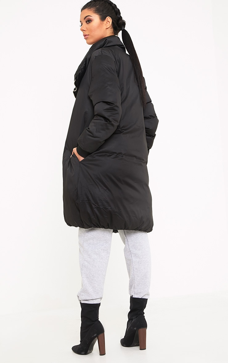 Rananna Black Oversized  Jacket 2