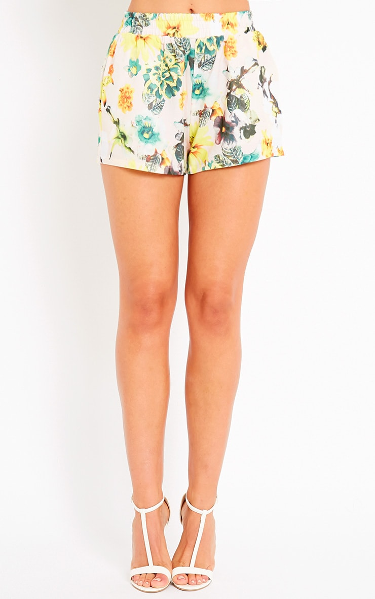Darby Floral Print Shorts 2