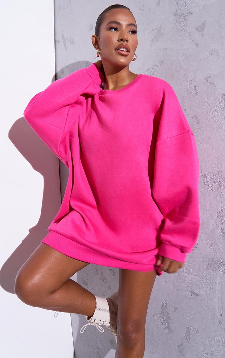 RENEW Pink Oversized Jumper Dress 1