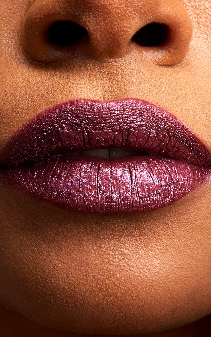 NYX Professional Makeup Glitter Goals Liquid Lipstick Bloodstone 4
