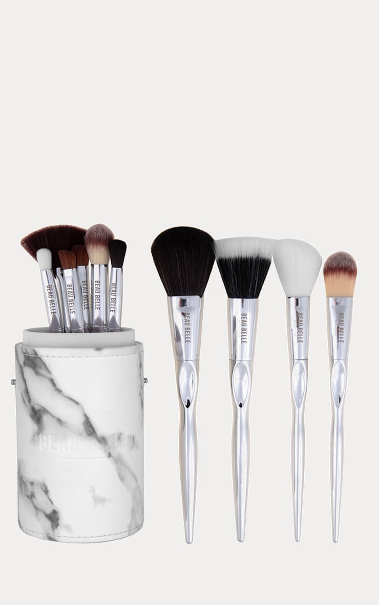 Beau Belle Marble Brush Set 4