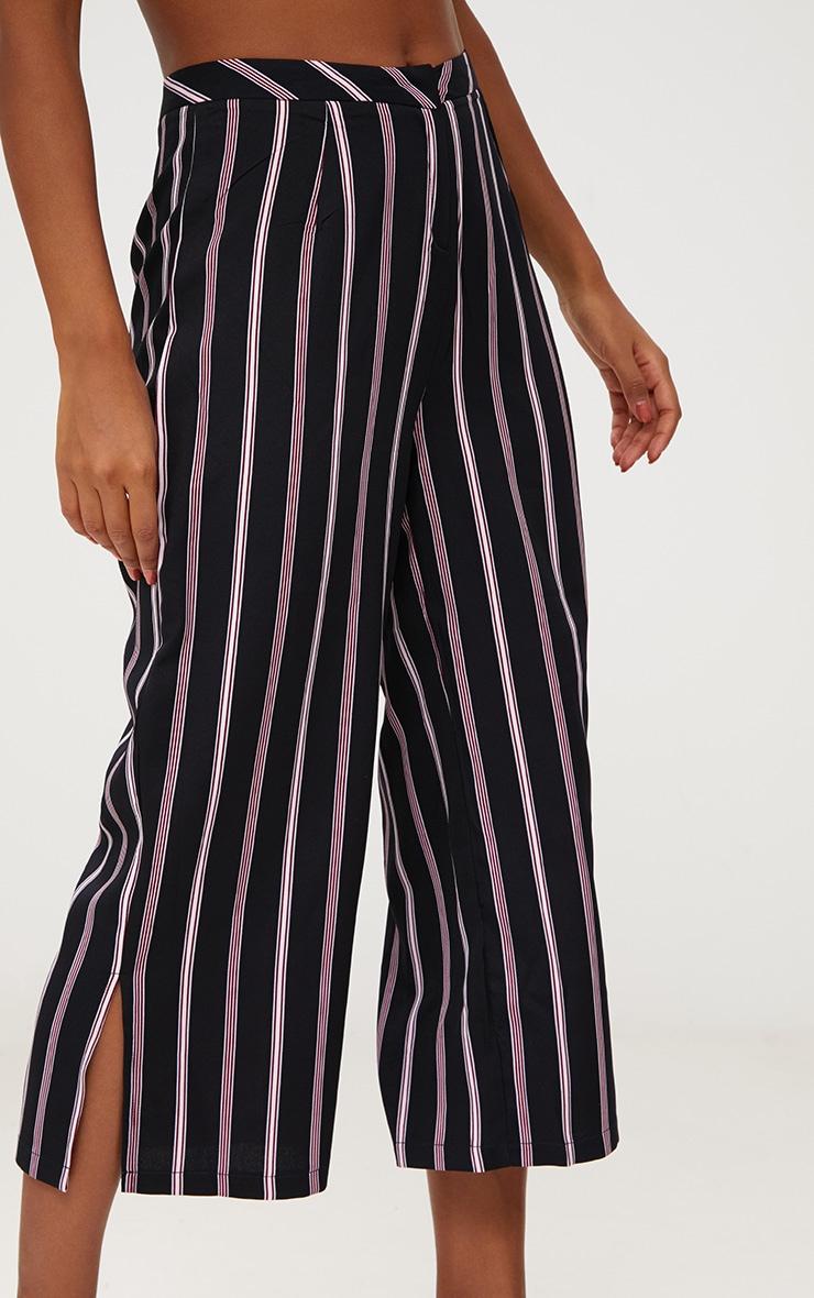 Red Stripe Suit Culottes 5