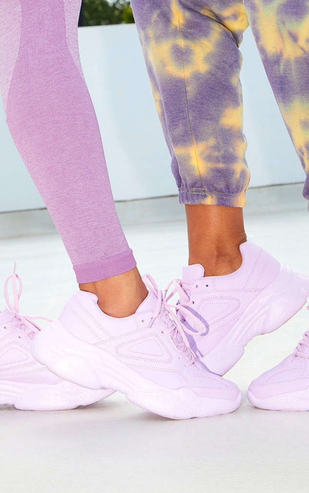 Lilac Arch Sole Chunky Sneakers 2
