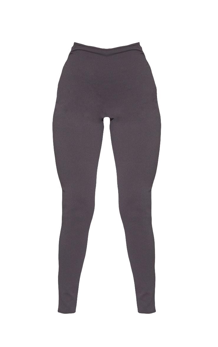 Charcoal Blue T Bar Skinny Trousers 5