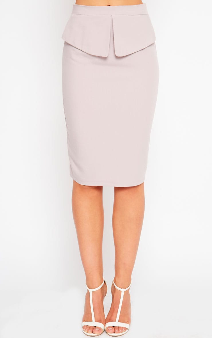 Roxy Mauve Midi Skirt 2