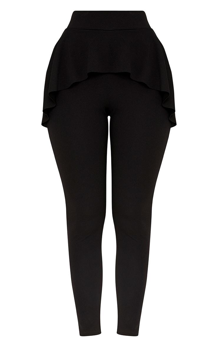 Lakesha Black Frill Waist Trousers 3