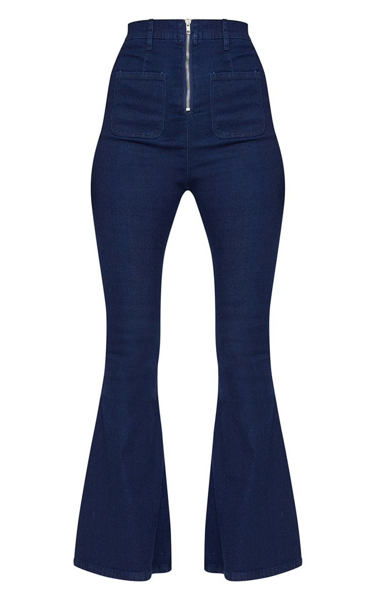 Indigo Kick Flared Jeans 5