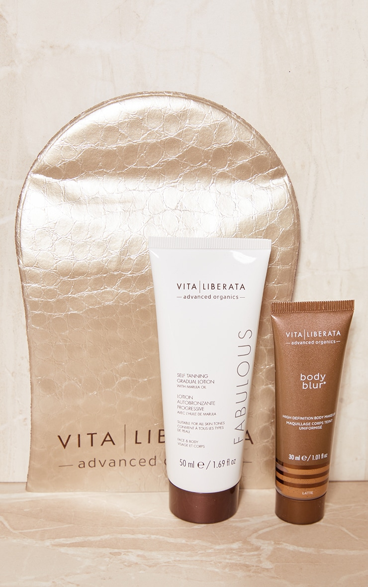 vita liberata beauty to go tanning kit