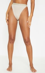6ed9be742c PRETTYLITTLETHING Nude Tonal High Leg Knicker image 2