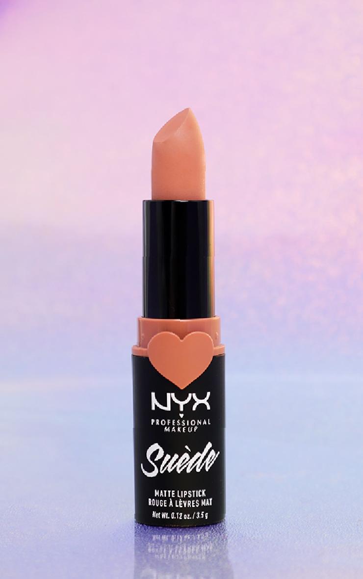 NYX PMU Suede Matte Lipstick Dainty Daze 1