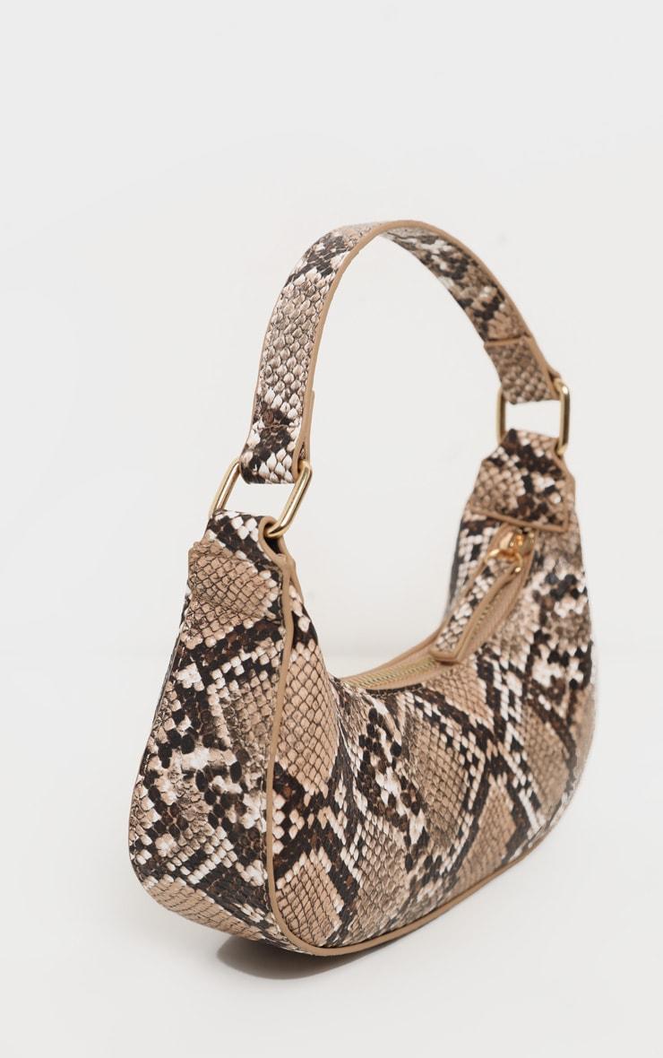Natural Snake Mini Shoulder Bag 1