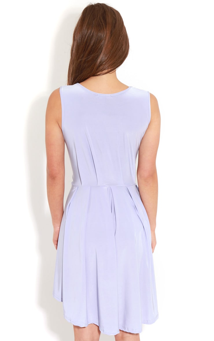 Anita Lilac Swing Dress 2