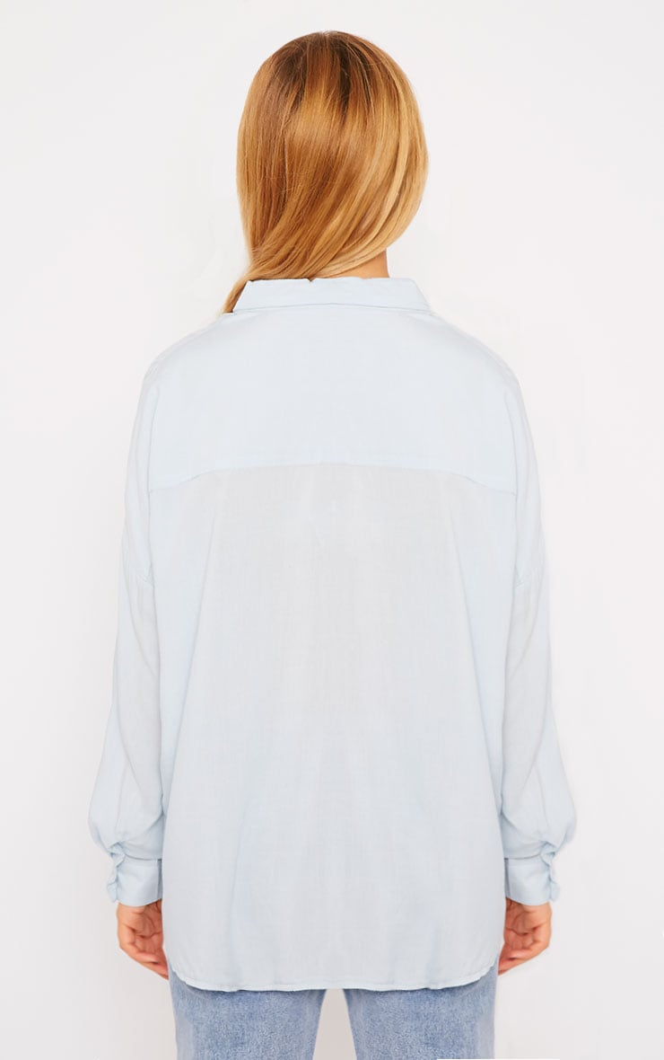 Agatha Powder Blue Shirt 2