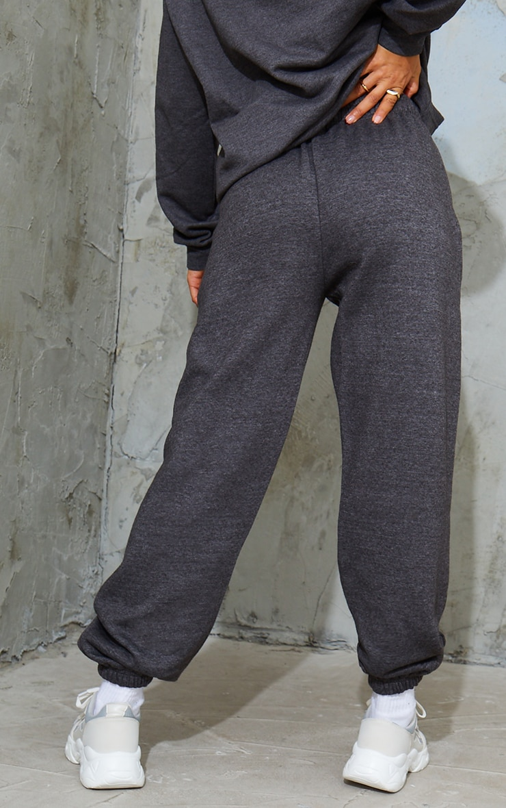 Charcoal Marl Sweat Pant Joggers 3