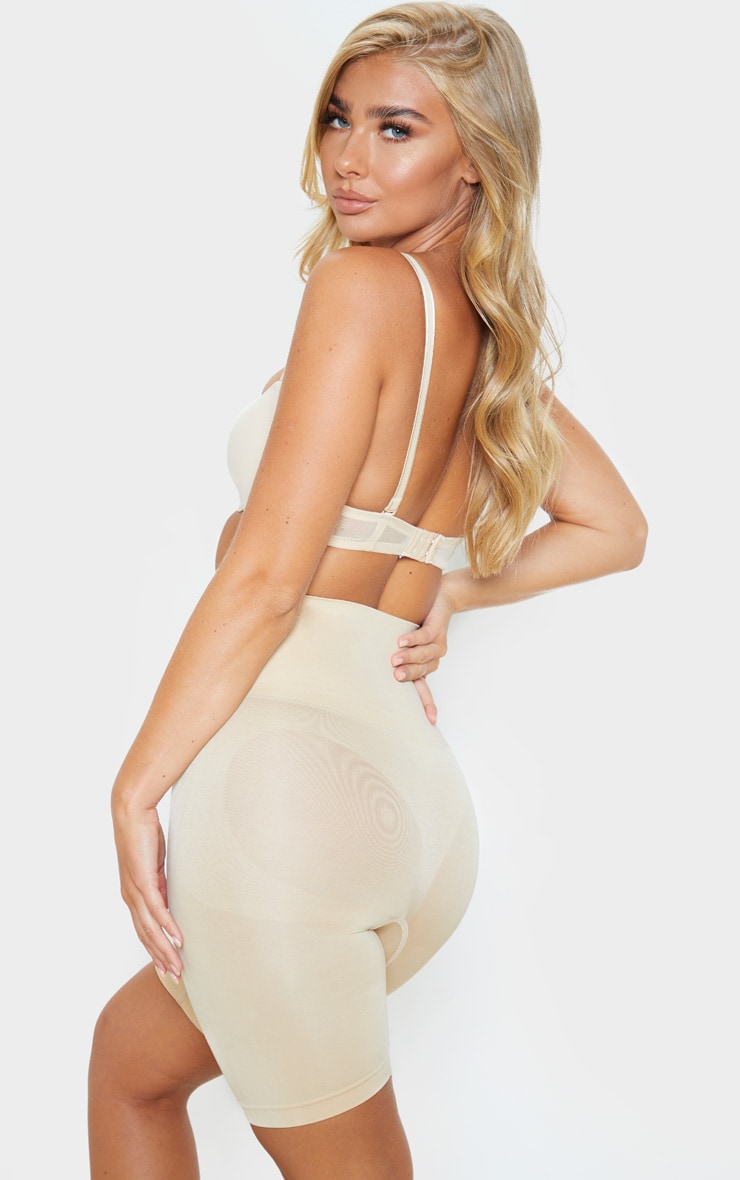 Nude Bum Lift High Waist Shapewear Control Short 1