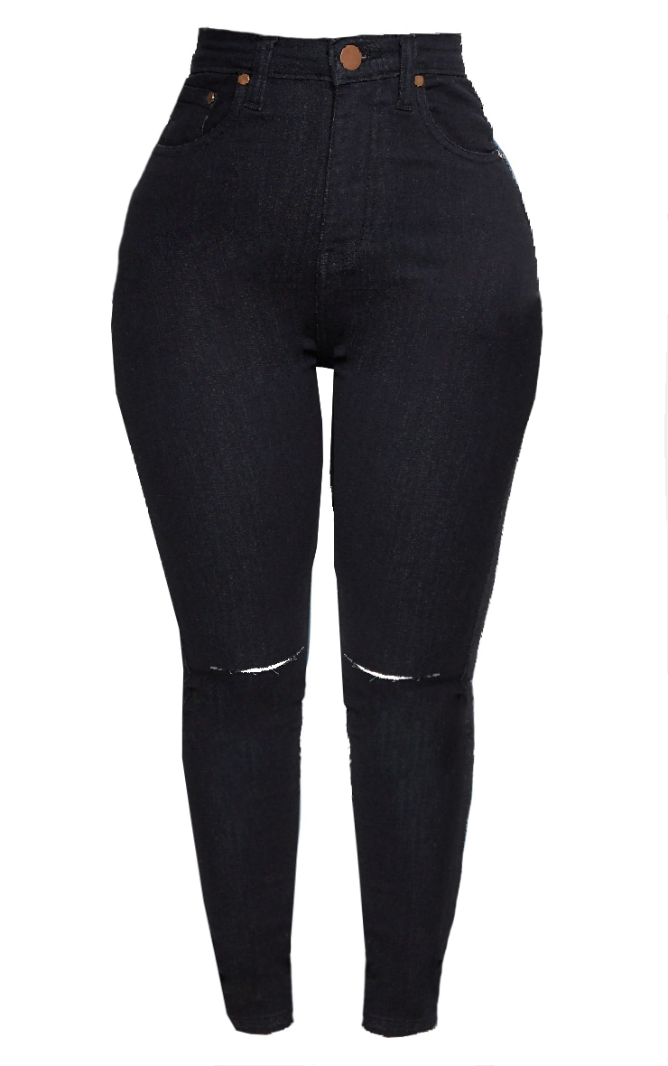 Shape Black Knee Rip Skinny Jean 3