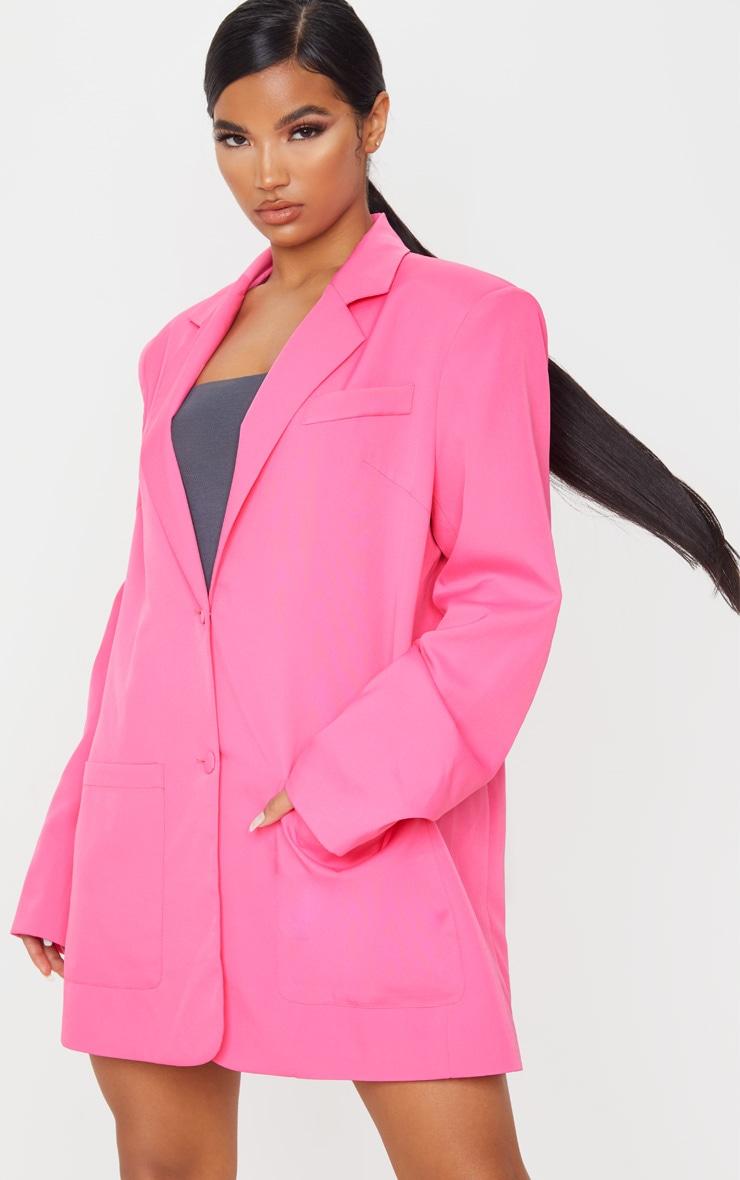 Pink Extreme Oversized Blazer 4