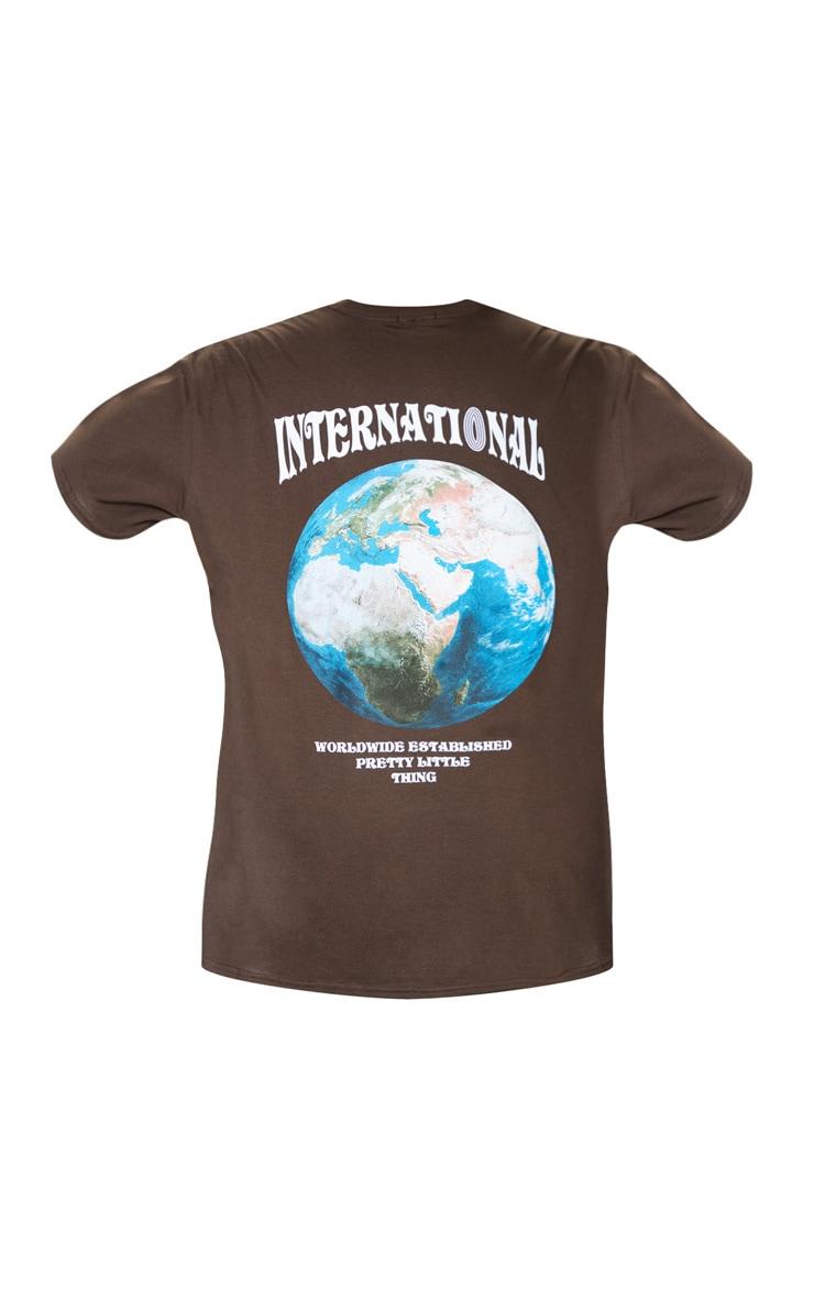 Brown International T-Shirt  4