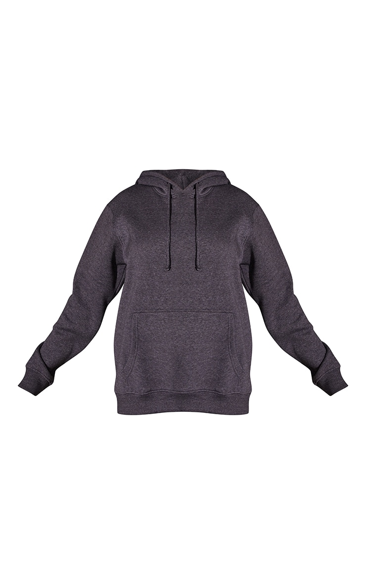 Recycled Charcoal Oversized Sweat Hoodie 5
