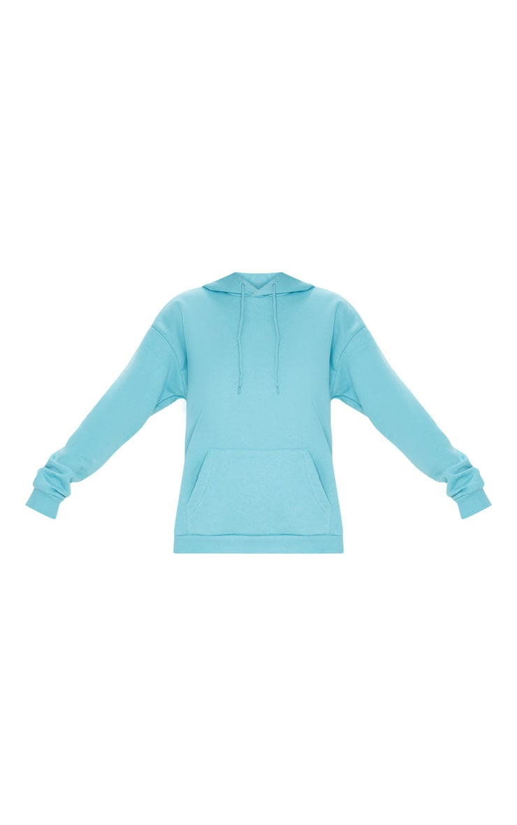 Dusty Turquoise Oversized Ultimate Hoodie 3