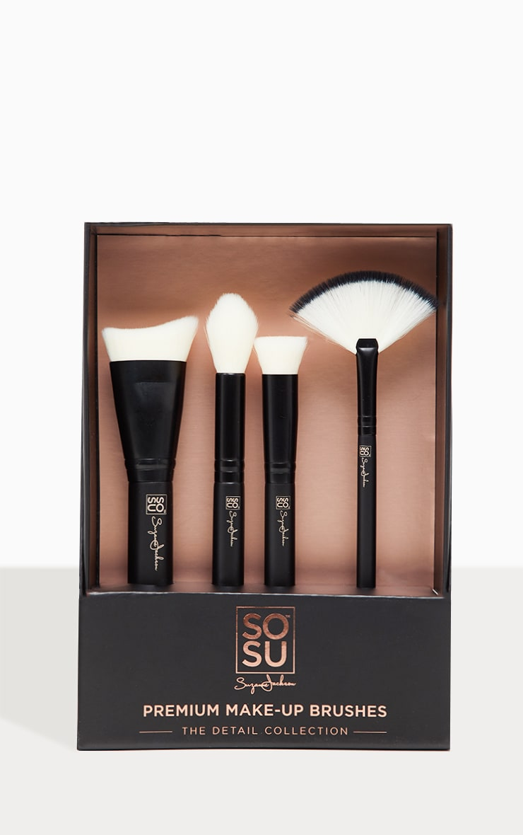 SOSUBYSJ The Detail Collection 4 Piece Brush Set  3