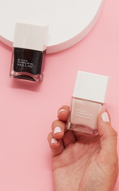 Nails Inc Super Sexy Strong Nail Polish Duo