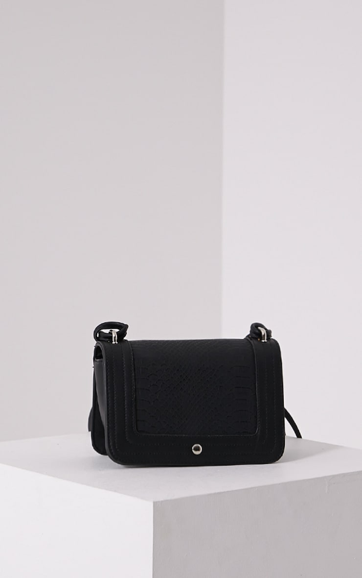 Jaya Black Strap Shoulder Bag 1