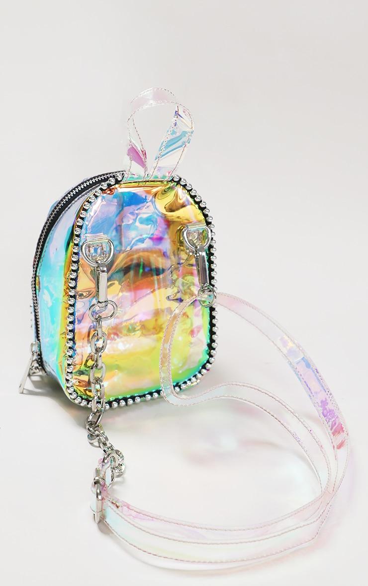 Rainbow Ball Chain Border Mini Backpack 2