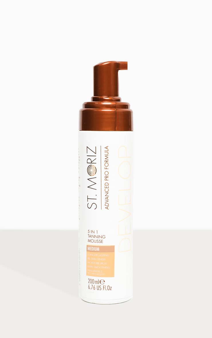 St. Moriz Advanced Professional 5 in 1 Tanning Mousse Medium 2