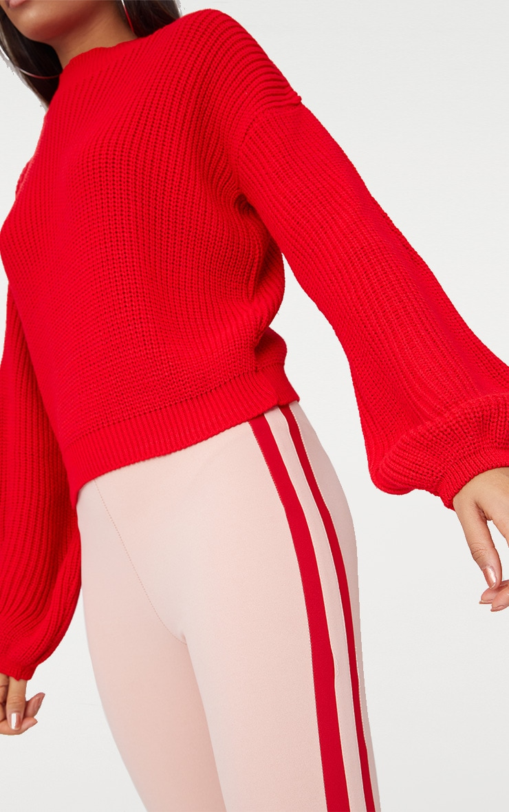 Red Balloon Sleeve Jumper 5