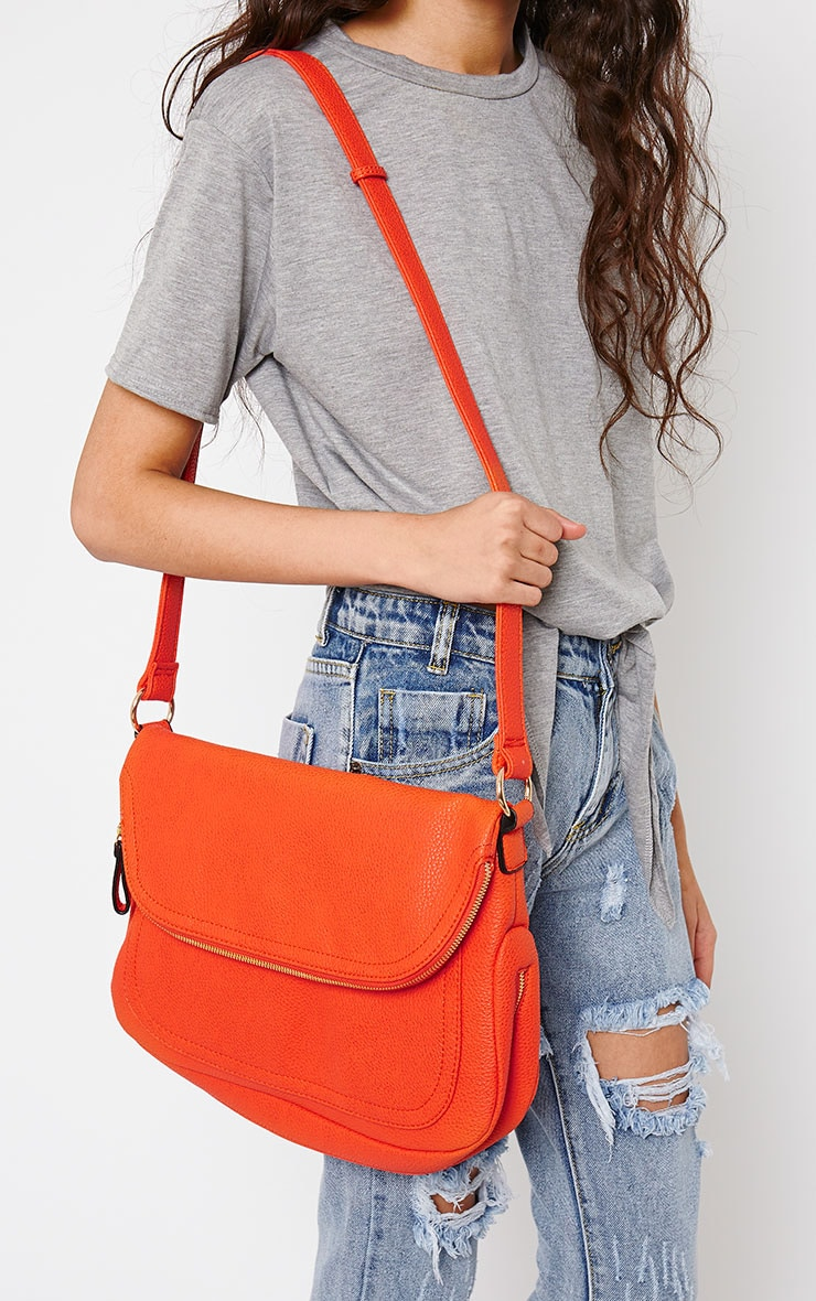 Bianca Red Shoulder Bag 1