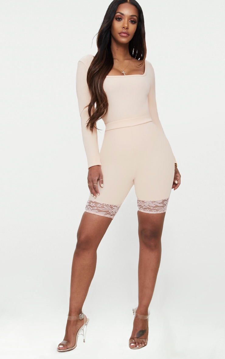 Shape Nude Ribbed Square Neck Bodysuit 5