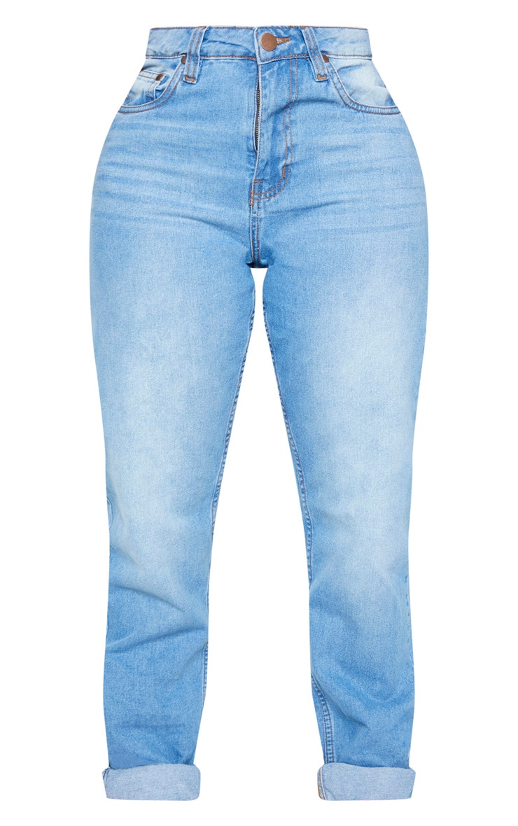 Shape Mid Wash Mom Jeans 3