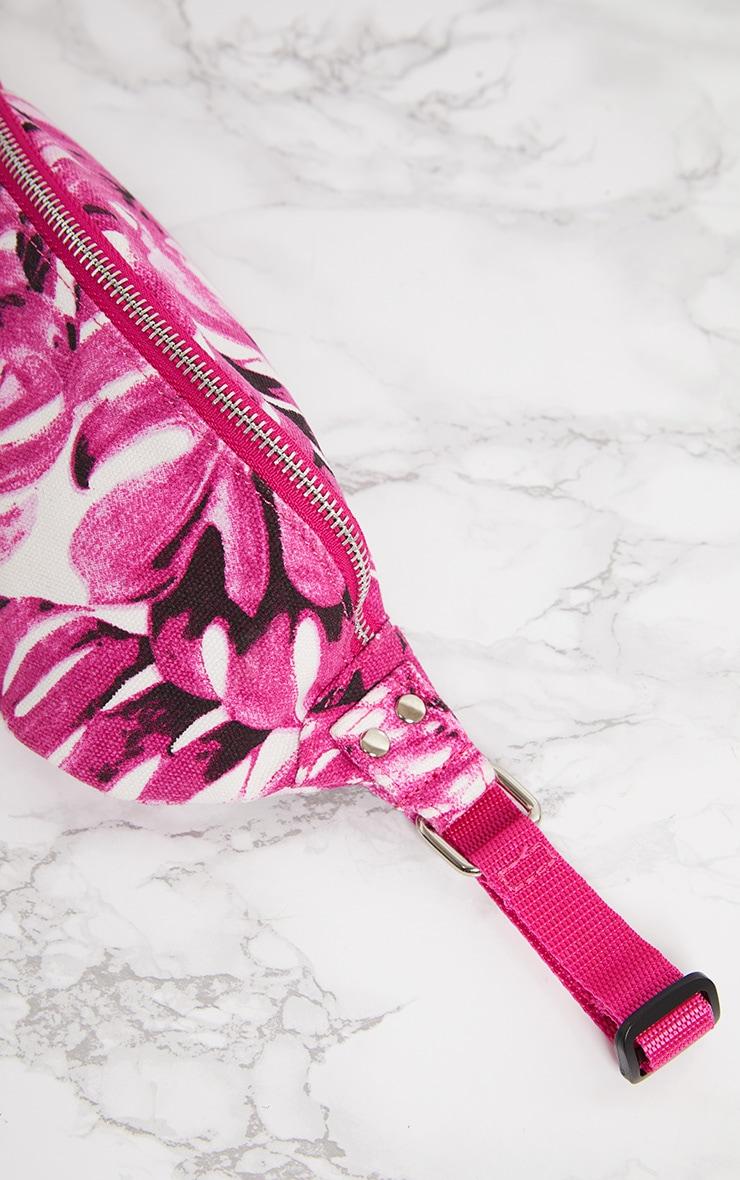 Pink Flower Bum Bag 5