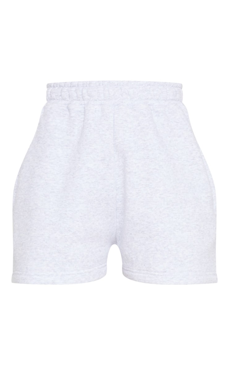 Grey Marl Sweat Pocket Shorts 6