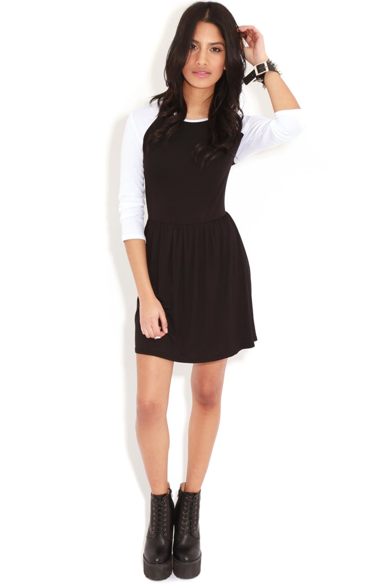 Cammy Monochrome Skater Dress 3