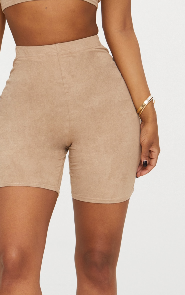 Shape Stone Faux Suede Cycling Shorts 5