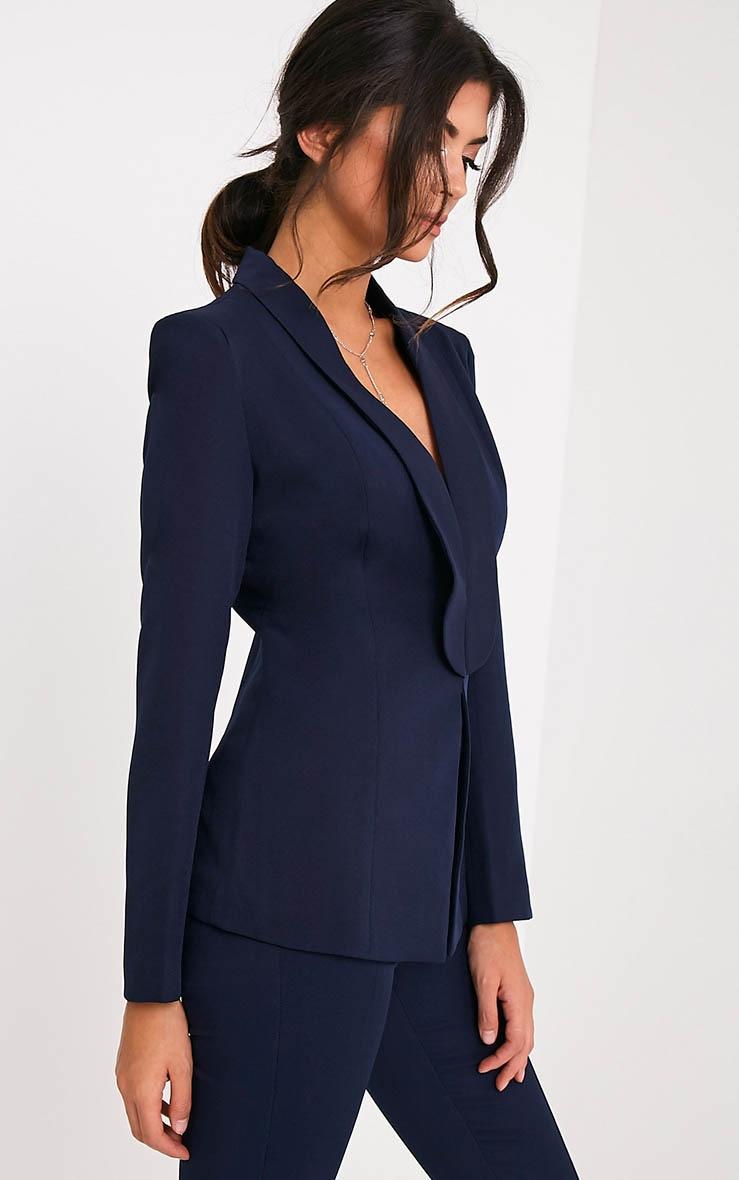 Avani Navy Suit Jacket 4