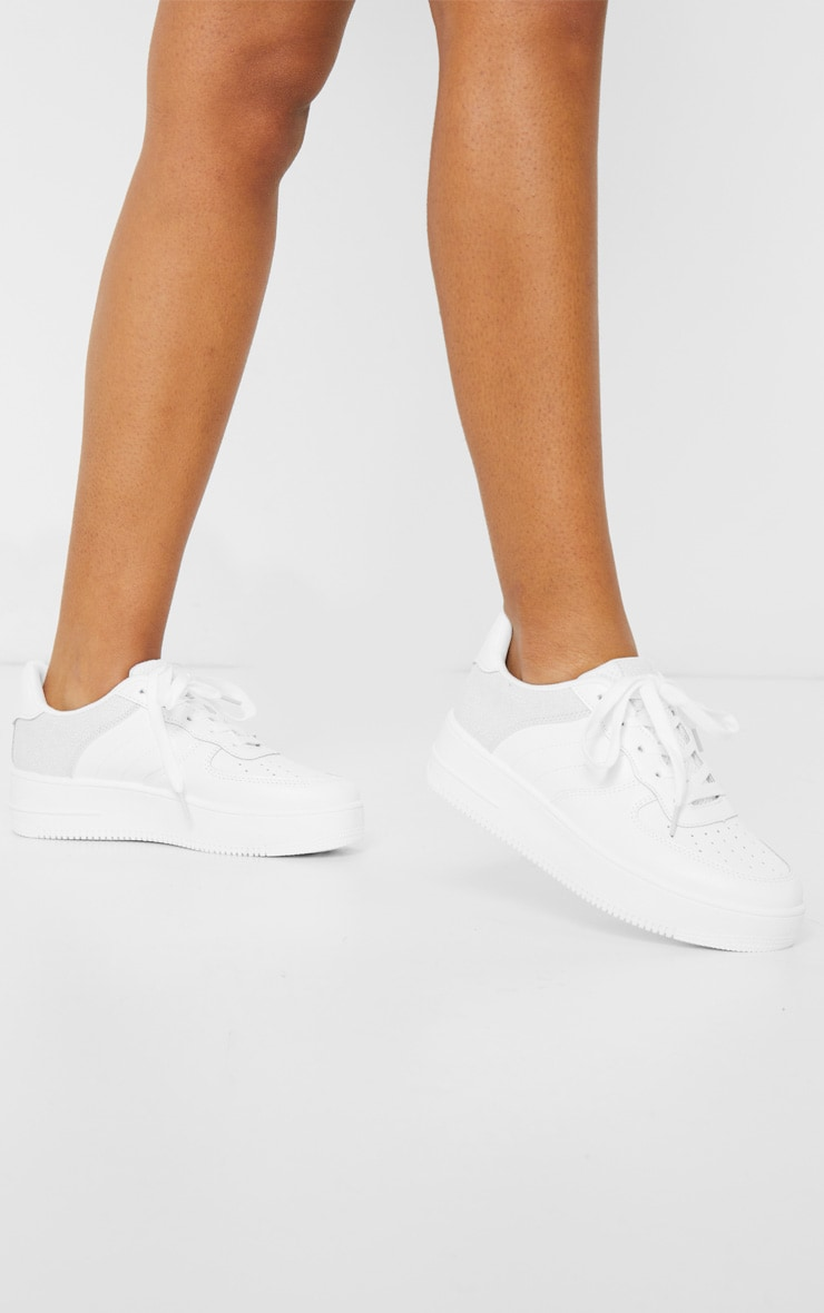 White Air Hole 90s Sneakers 2