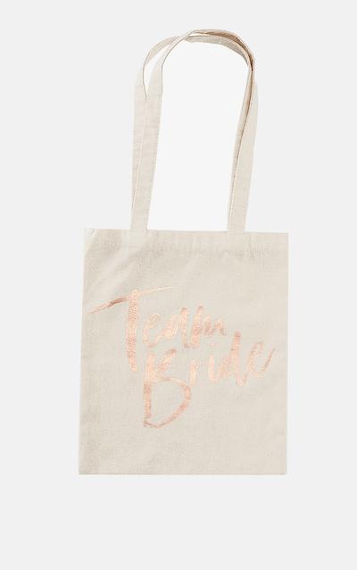 Ginger Ray Team Bride Tote Bag