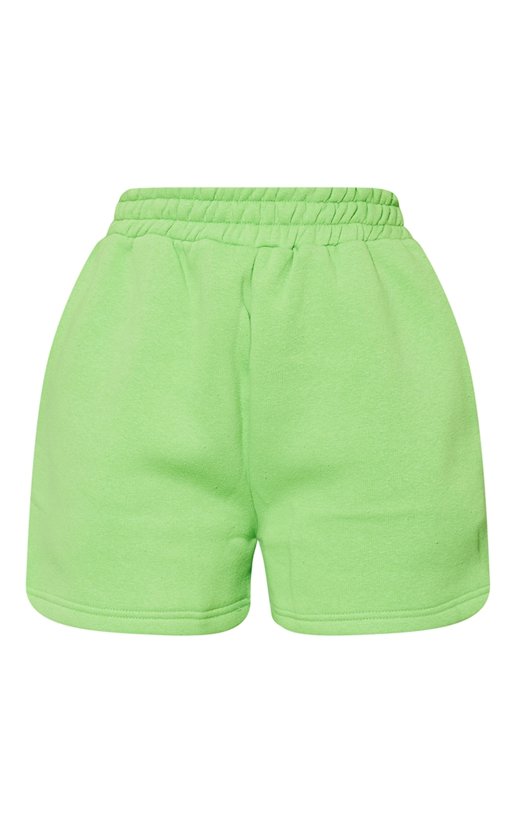 Green Sweat Pocket Shorts 6