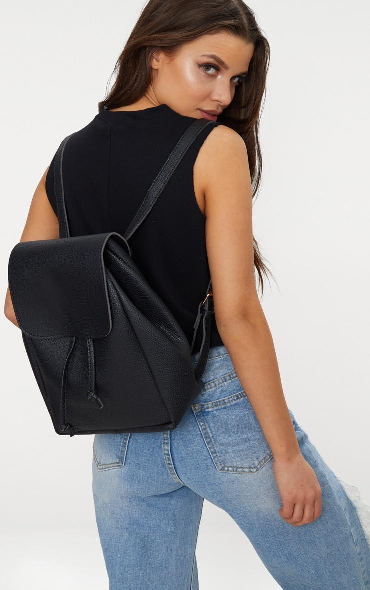 Black Large Backpack 2