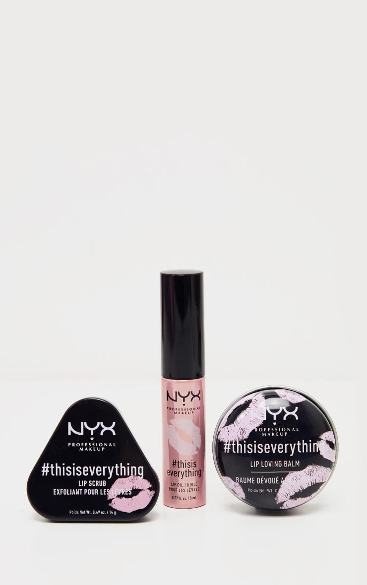 NYX Professional Makeup Lips to Love Nourishing Lip Christmas Gift Set 2