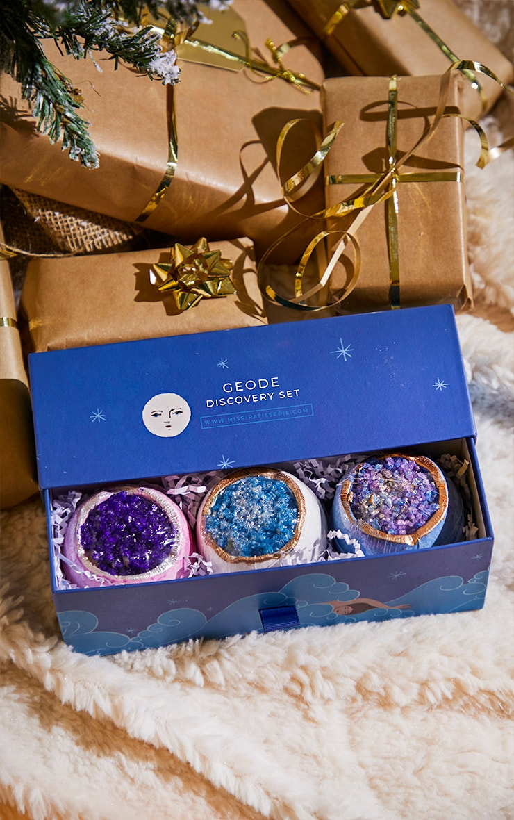 miss patisserie geode discovery bath bomb box