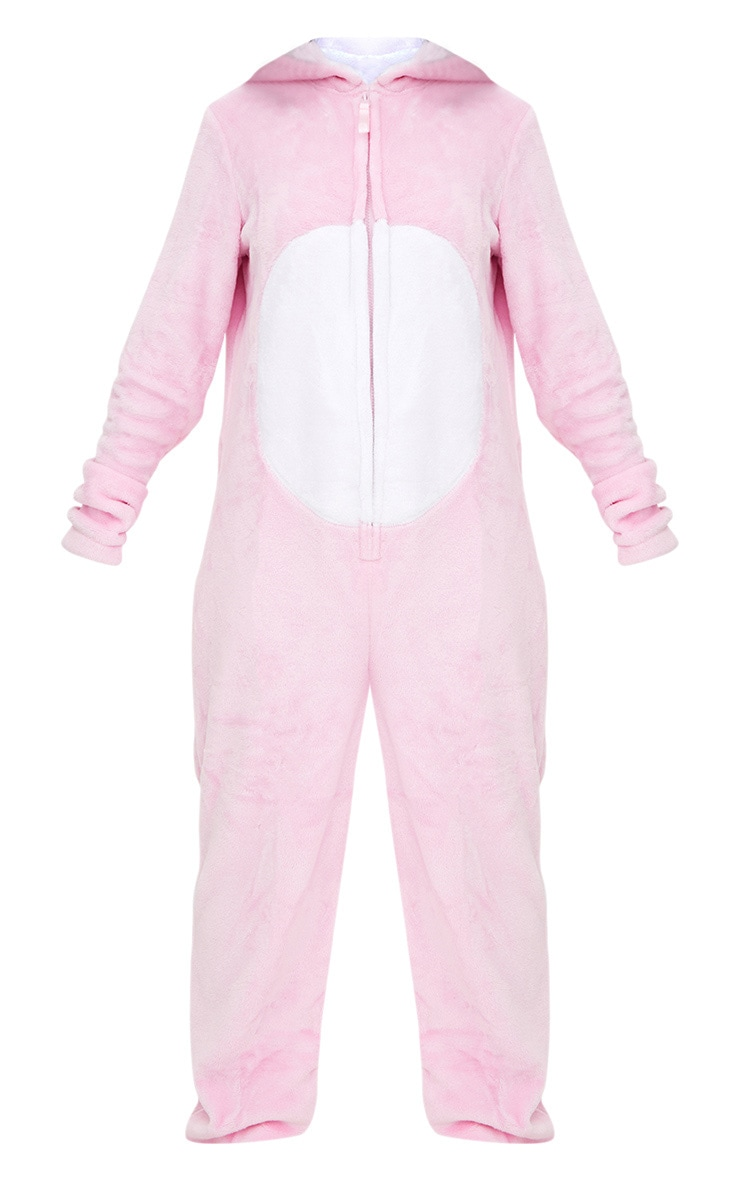 Pink Rabbit Onesie 3