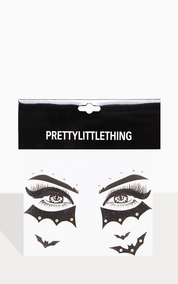 PRETTYLITTLETHING Bat Eyed Girl Face Sticker 2