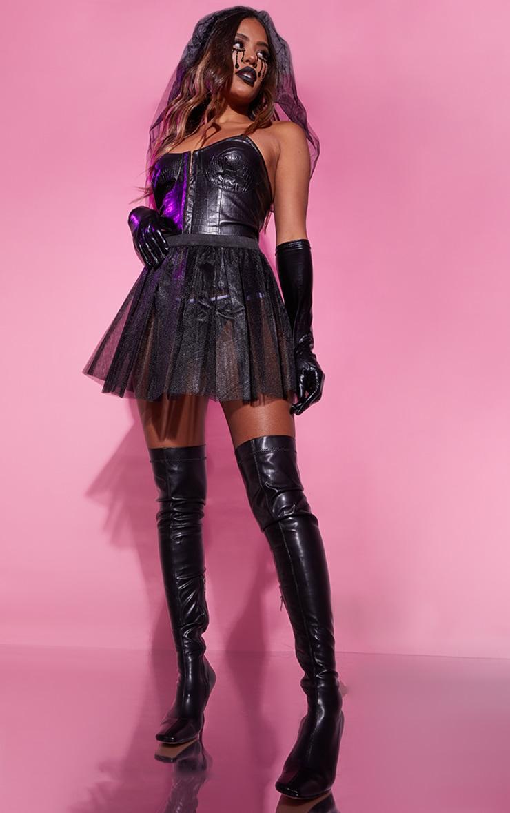 Black Basic TuTu Skirt 3